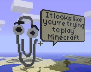 Minecraft Clippy