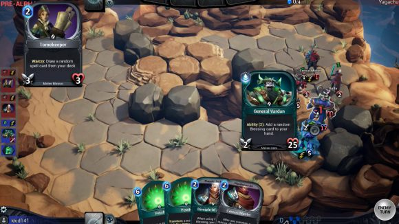 A Tactical Collectible Card Game that gives streamers and their viewers exciting new ways to interact and play together on Twitch!